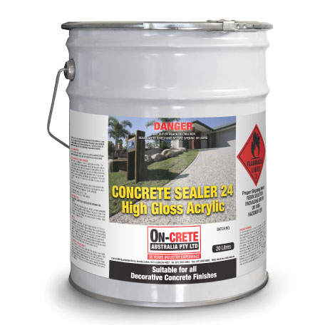 Concrete Sealer 24 High Gloss
