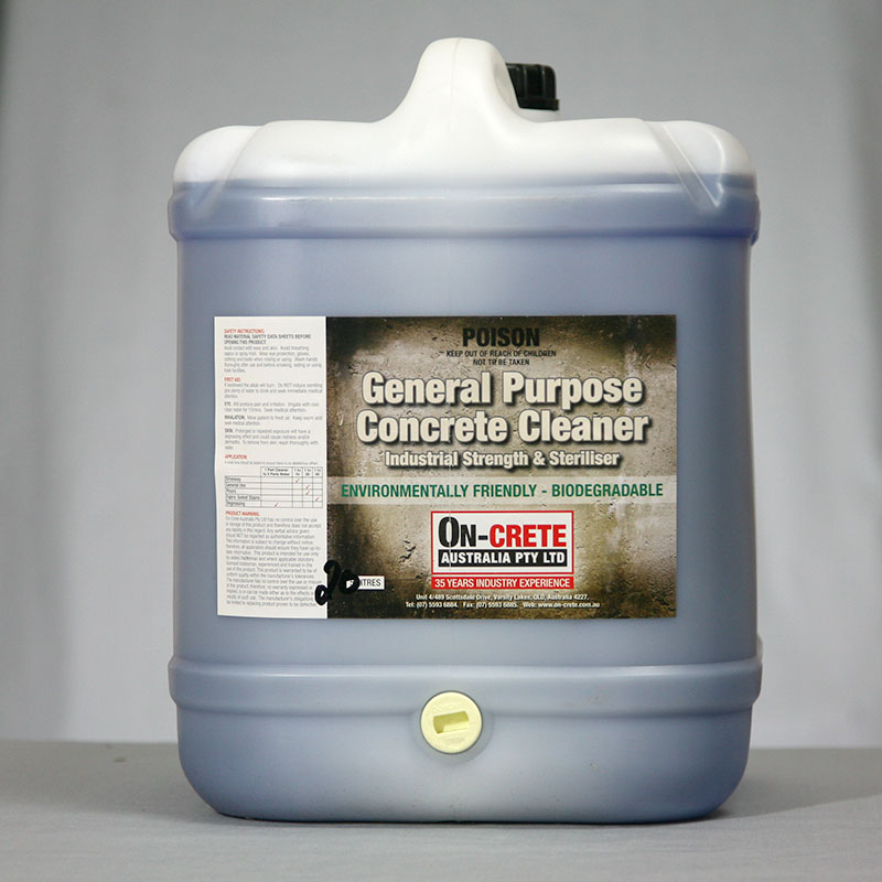 Concrete cleaner on crete for Cement cleaning products