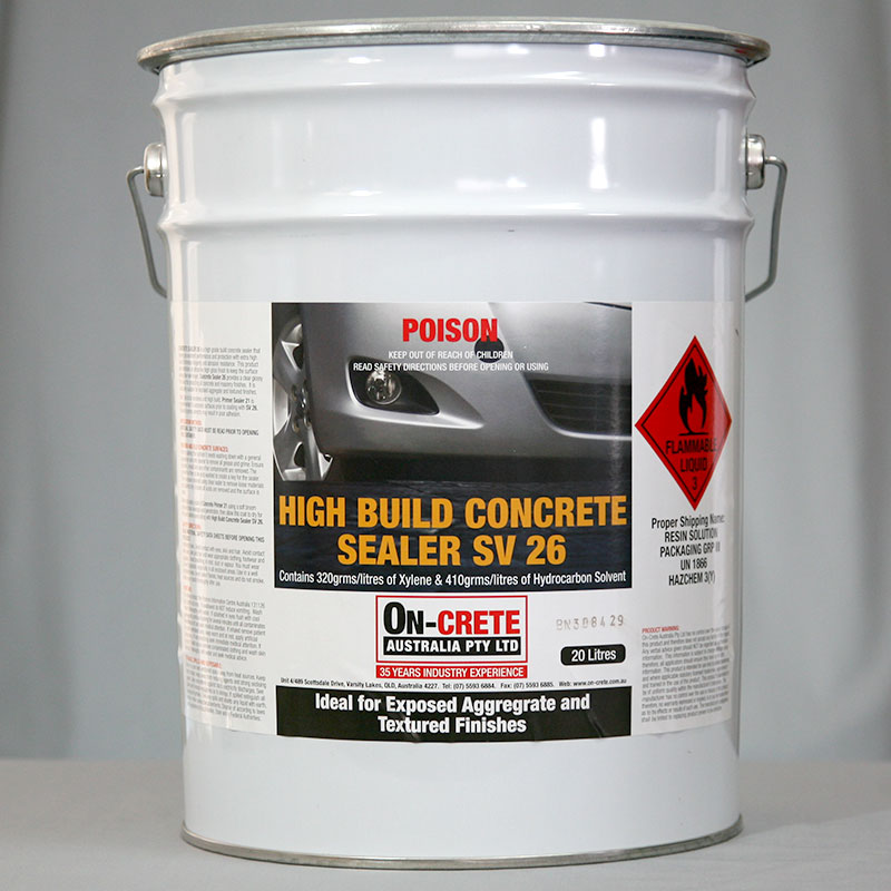 High Build Concrete Sealer SV26