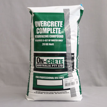 Overcrete Resurfacing Complete