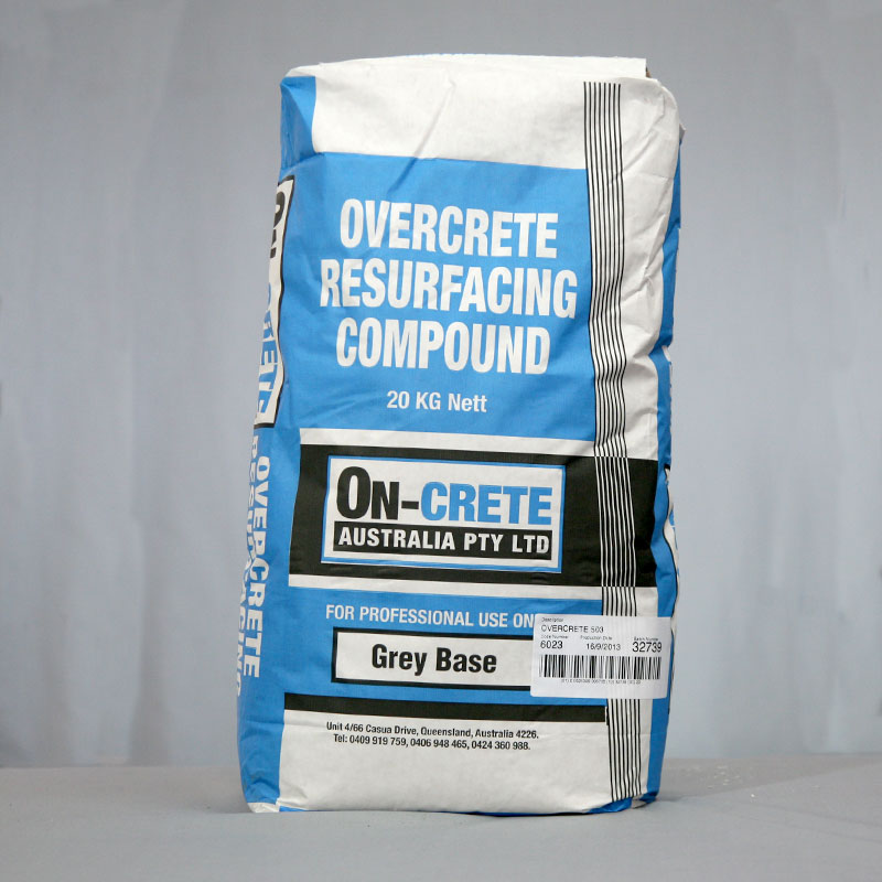 Overcrete Resurfacing Compound - Grey Base
