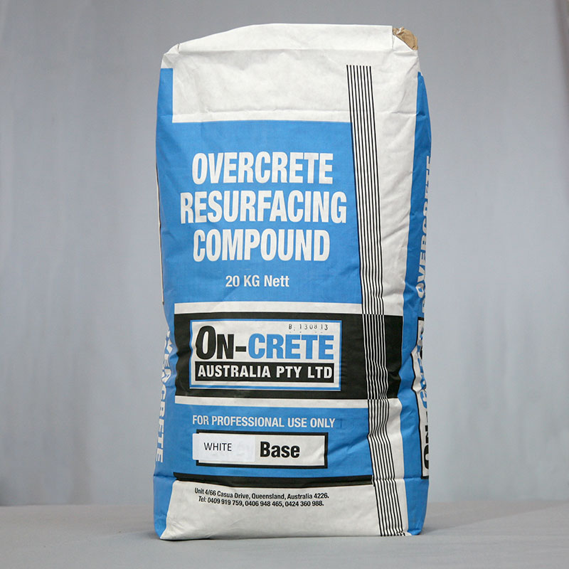 Overcrete Resurfacing Compound - White Base