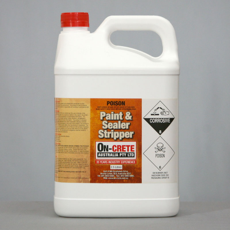 Paint and Sealer Stripper