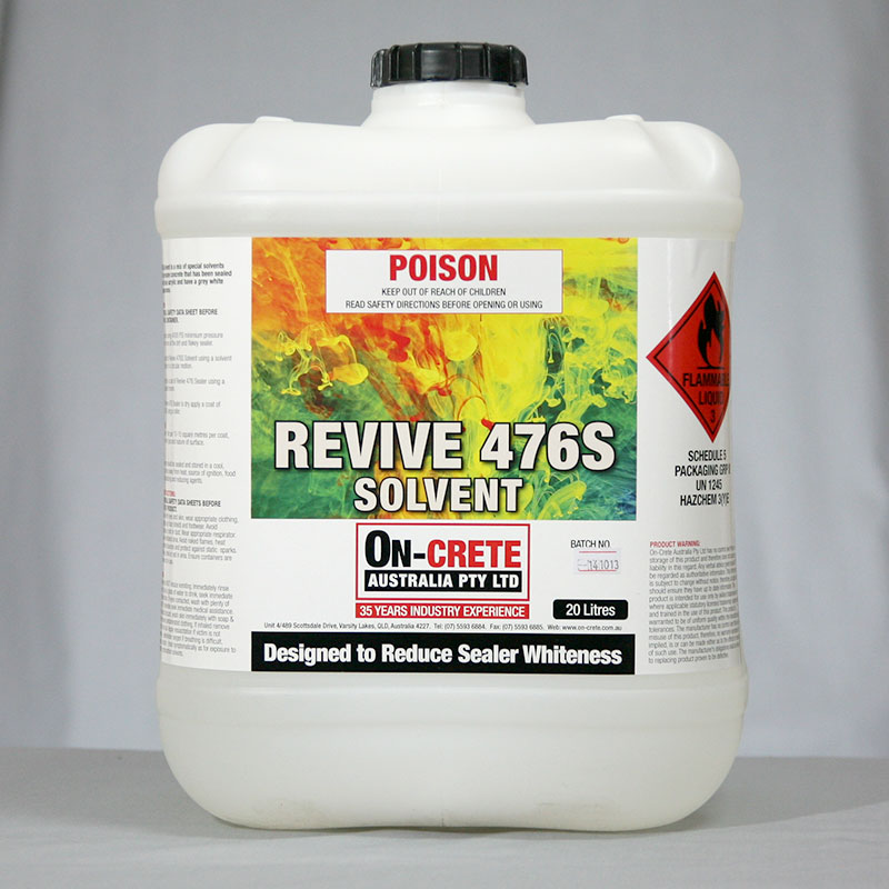 Revive 476S Solvent
