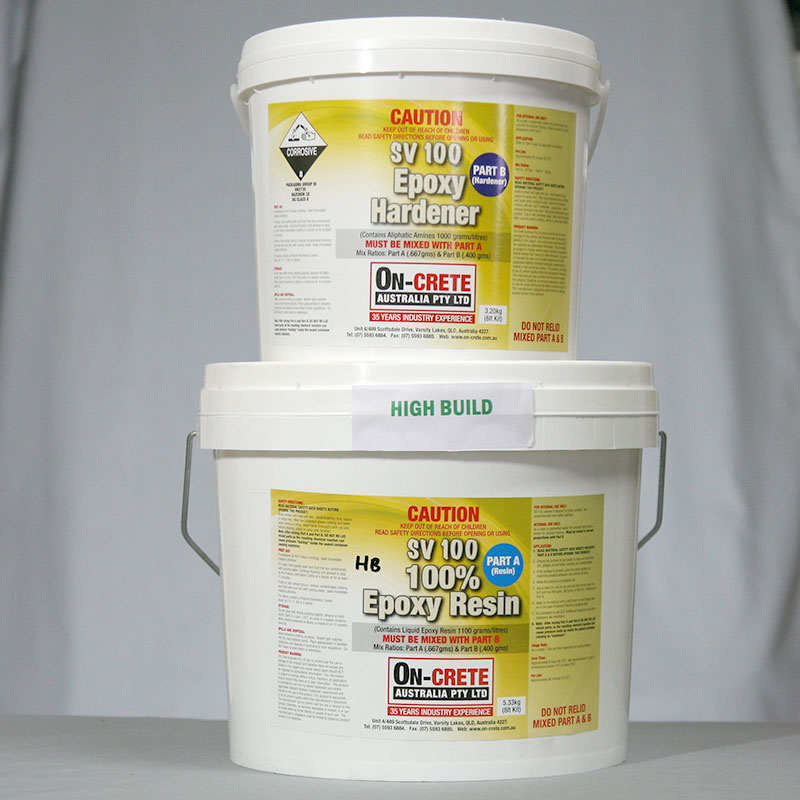 SV100 High Build Epoxy 100% Solids