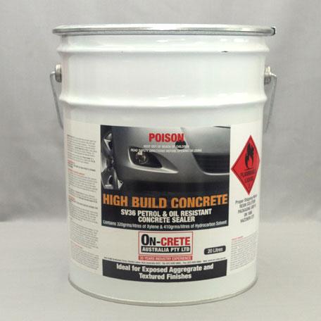 SV36 Petrol & Oil Resistant Concrete Sealer