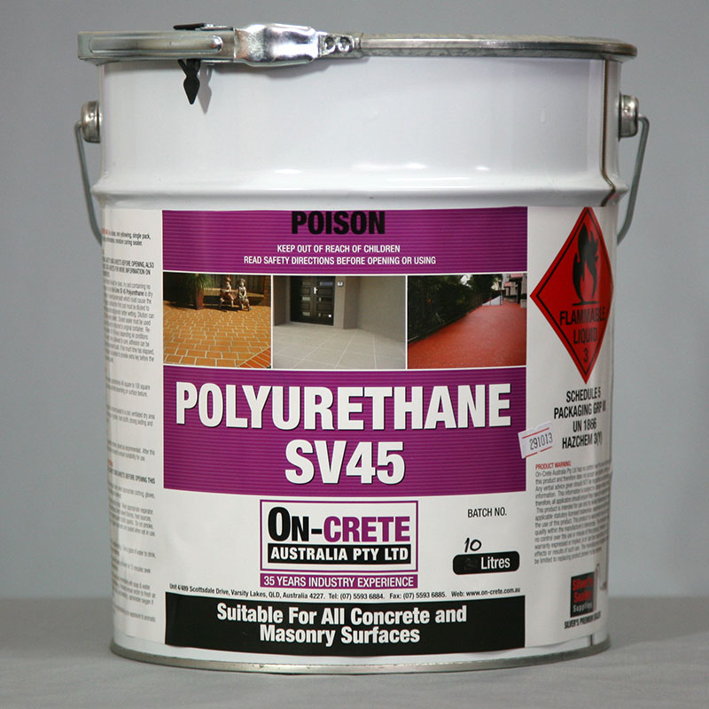 Polyurethane Sealant Amp Floor Coating On Crete